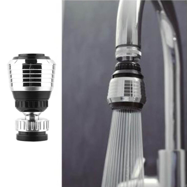 360 Rotate Swivel Faucet Nozzle Filter Adapter Water Saving Tap Aerator Diffuser High Quality Bathroom Kitchen Accessories