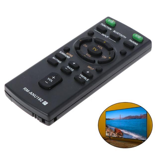 Remplacez la télécommande RM ANU192 pour Sony Smart LCD LED TV HT CT60BT SA CT60BT SA CT60 barre de son contrôleur de remplacement