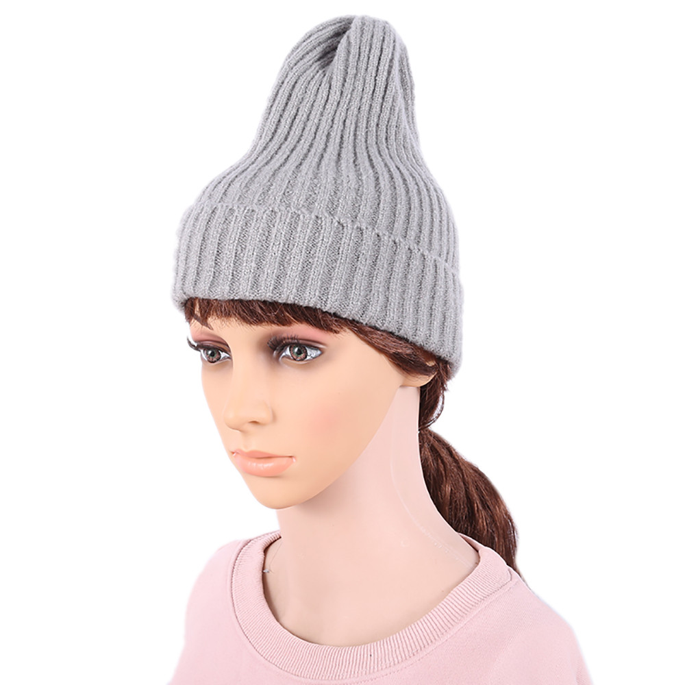 ee3d0e1ea Hot Sale] 2019 New girls Beanies Knitted cap harajuku Trendy Chic ...