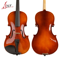 TONGLING Brand High Quality Solid Wood Violin with Case Bow Strings Shoulder Rest For Beginner Students