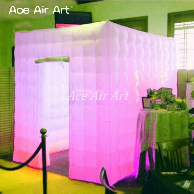 customized portable led inflatable cube booth tent inflatable photo booth Cabin for wedding offered by Ace & customized portable led inflatable cube booth tent inflatable ...