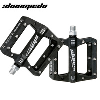 SMS Bicycle Pedal Road Bike MTB Parts Pedals Nylon 3 Bearing Fixed Gear Riding Wide Pedal Cycling Non slip Ultralight Pedals