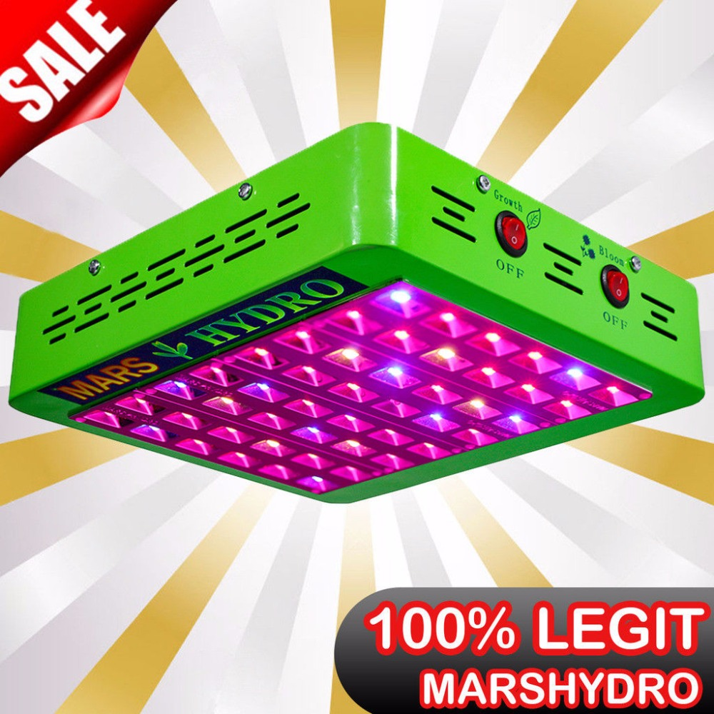 Mars Hydro Reflector240W LED Grow Light Full Spectrum Veg/Bloom Switchable Indoor Plants growing hydroponic lamp phytolamp best led grow light 600w 1000w full spectrum for indoor aquario hydroponic plants veg and bloom led grow light high yield