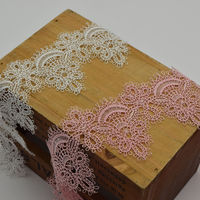 15 Yards 5 5cm Wide Good Quality White And Black Soft Venise Lace Applique Sewing Trim