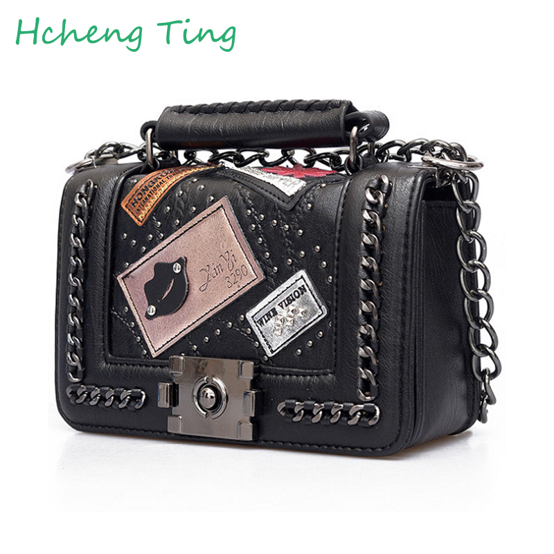 Diamond Lattice Women Messenger Bags famous Brand Designer PU Leather Handbag Chain Shoulder Bag Plaid Women