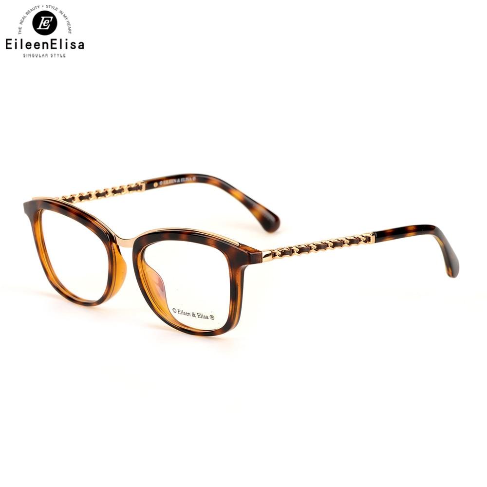 Linse c5 Brillen Klare c3 c2 Ee c6 Gläser Rahmen Acetat Mode c4 Brillengestell Neue 2017 Frauen C1 x04wqw8IZf