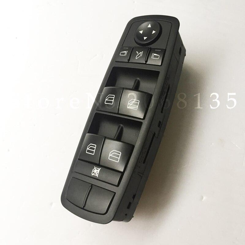 High quality NEW Power Window Switch A2518300290 For Mercedes W164 GL320 GL350 GL450 ML320 ML350 ML450 ML500 R320 R350 2016 brand new instrument display for mercedes mb ml w164 gl x164 r300 r350 r500 w251