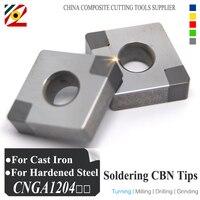 EDGEV Boron Nitride CBN Insert CNGA120404 CNMG120408 Or CNGA431 CNMG432 Blade For Cutting Hardened Steel And