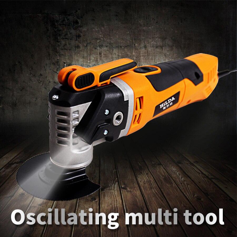 Outils de rénovation 220 V 280 W multi-fonction électrique oscillant tondeuse bricolage Machine à bois 11000 tr/min 50 HZ scie électrique