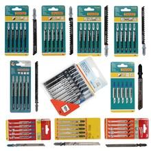 5PCS Jigsaw Klingen Holz Cutter Sägeblatt T111C T111D T144D T244D T344D T118A T127D T101B für Bosch Dewalt Hitachi makita Festool