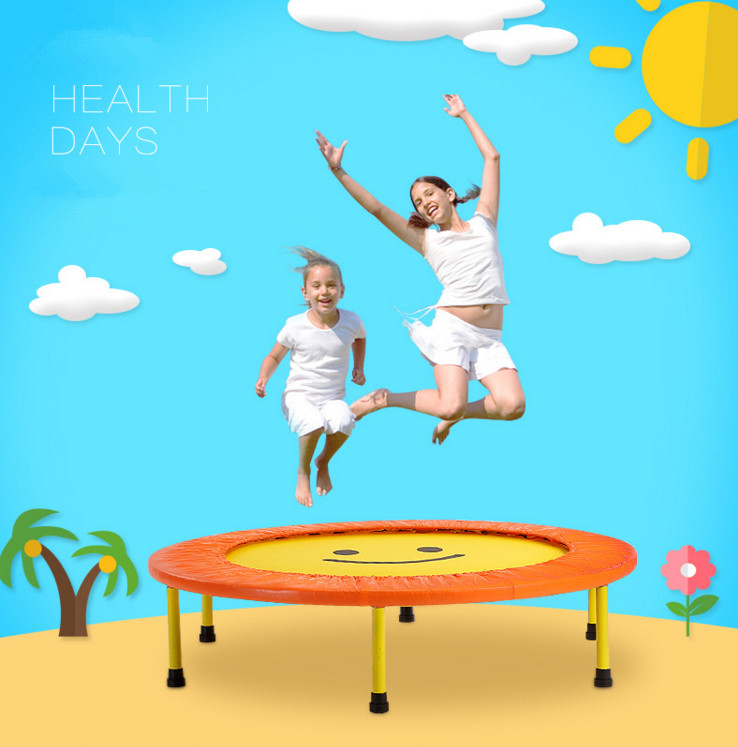 Hot salling christmas gift kids and adults create fun Outdoor folding round gymnastic/fitness trampoline with TUV&GS certificate