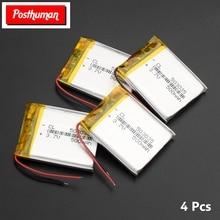 POSTHUMAN 503035 Smart Home MP3 Speakers Li-ion Battery for DVR GPS MP4 Cell Phone Speaker Polymer Battery 500 mah 3.7 V цена