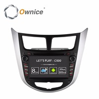 Ownice C500 Octa 8 Core Android 6 0 CAR DVD Player For Hyundai Solaris Accent Verna