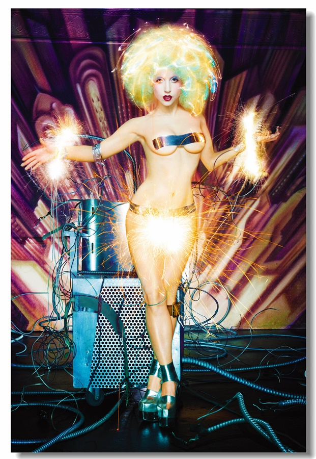 Custom Canvas Wall Murals Sexy Movie Star Lady Gaga Poster Music Wall Art Craft Painting Kraft Paper Living Room Stickers #0245#