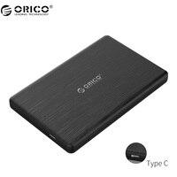 ORICO 2578C3 2,5 дюймов Тип-C SSD корпус USB3.1 SSD Внешний жесткий диск случая высокого Скорость для 7 мм Толщина SSD Поддержка UASP