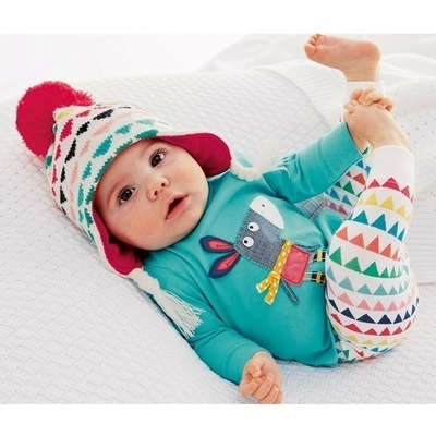 2017 100% Качество Хлопка Детская Одежда Наборы Donkey Пижамы костюм