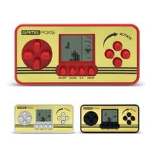 2pcs Retro Children Classical Players Portable Tetris Handheld Built in 23 Games Console Tetris kids Gaming