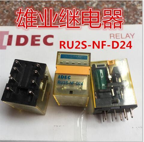 NEW relay RU2S-NF-D24 RU2S-NF-DC24V RU2S-D24 RU2SNFD24 DC24V 24V 24VDC DIP8 2PCS/LOT new cad50bdc dc24v tesys d series contactor control relay 5no 0nc