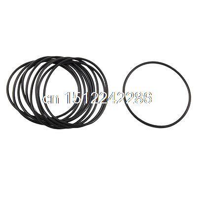 Joint 30pcs 2 mm largeur 10 mm Diamètre intérieur 14 mm OD Silicone O-Anneaux