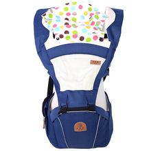 2 In 1 Ergonomic Baby Carrier Multifunctional Baby Sling 4 Seasons Breathable Hooded Kangaroo For 3 To 30 Months child