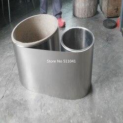 التيتانيوم رقيقة شريحة لوح من الألمونيوم احباط 0.1x200x110000mm ، Ti Gr2 الصف 2 ASTM B265 التيتانيوم احباط