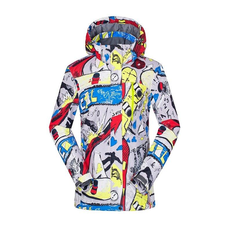 Ski & Snowboard Hohe Erfahrung Jacke Snowboard Jacken Frauen Winter Jakets Wasserdichte Ski Jacke Frauen Skibekleidung Ski Jas Dames Warme Schneeanzug Belebende Durchblutung Und Schmerzen Stoppen