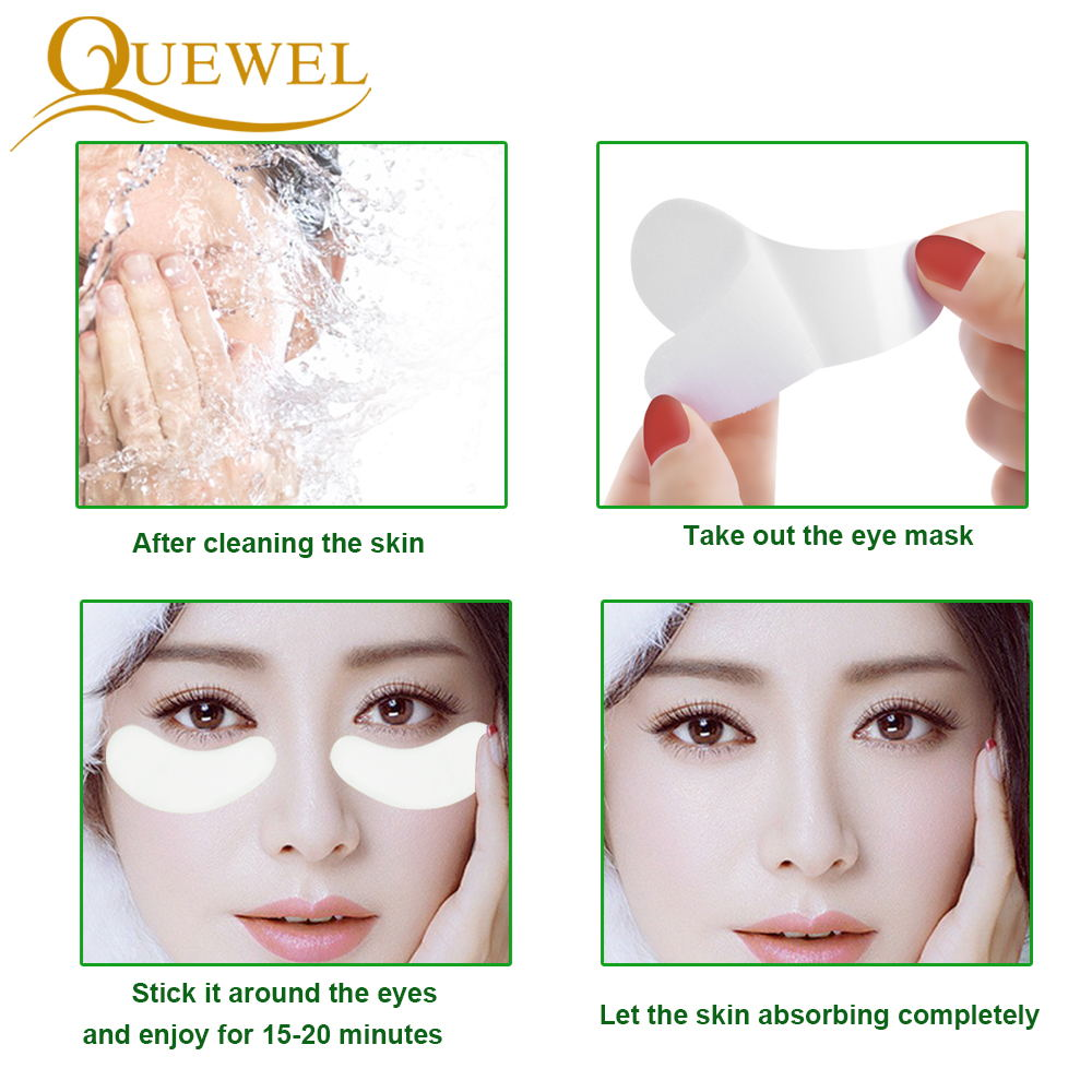 Image 4 - 50 Pairs Patches Eyelash Extension Stickers Eye Pads Paper Under Eyes Grafted Lash Stickers Beauty Tips Wraps Tools Pad Quewel-in False Eyelashes from Beauty & Health