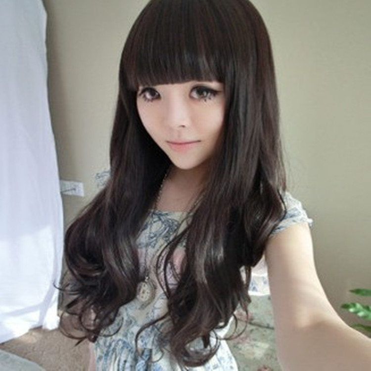 Aliexpress Long Wavy Hair Wigs Lovely Girl Non Mainstream -2540