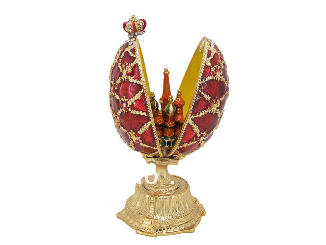 2013 Free shipping best-selling Easter eggs;Fairy pewter Jewelry Box;Jewelry box worth having