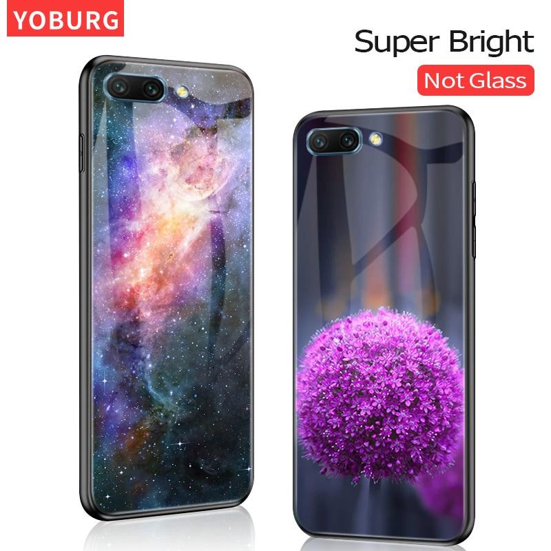 Honor 7C Case Super Bright Glossy PC+TPU Cover For Huawei Honor 7A Pro Dua-L22 Huawei Honor 7C Aum-L41 Case
