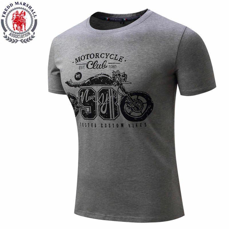 男性のファッション Tシャツ O ネック半袖オートバイプリント tシャツトップス Tシャツユーロサイズカジュアルストリートブランド服
