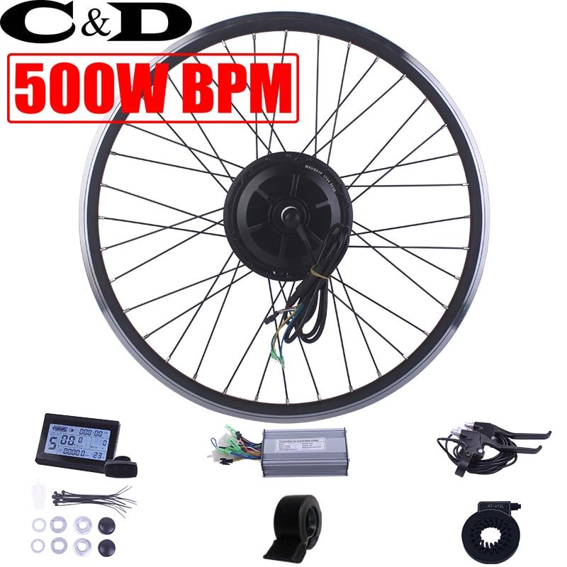 36 48V 500W ebike kit Electric bike conversion kit BPM MX01C 01F 01R Geared motor MXUS
