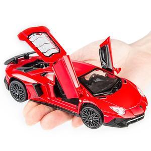 Image 5 - 1:32 Модели автомобилей из сплава LP750 литая под давлением модель автомобиля звуковой светильник для автомобиля игрушка для автомобиля миниатюрные Весы Модель Машинки Игрушки