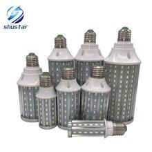 E27 E14 B22 Высокой Мощности Алюминия PCB 5730 SMD LED Лампы Кукурузы 85 В-265 В 10 Вт 15 Вт 20 Вт 25 Вт 30 Вт 40 Вт 60 Вт 80 Вт Отсутствие Фликера СВЕТОДИОДНЫЕ лампы