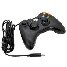 USB проводной джойстик геймпад для Xbox Slim 360 игровой контроллер для microsoft для PC Gamer Android Smart tv Box джойстик игровой коврик