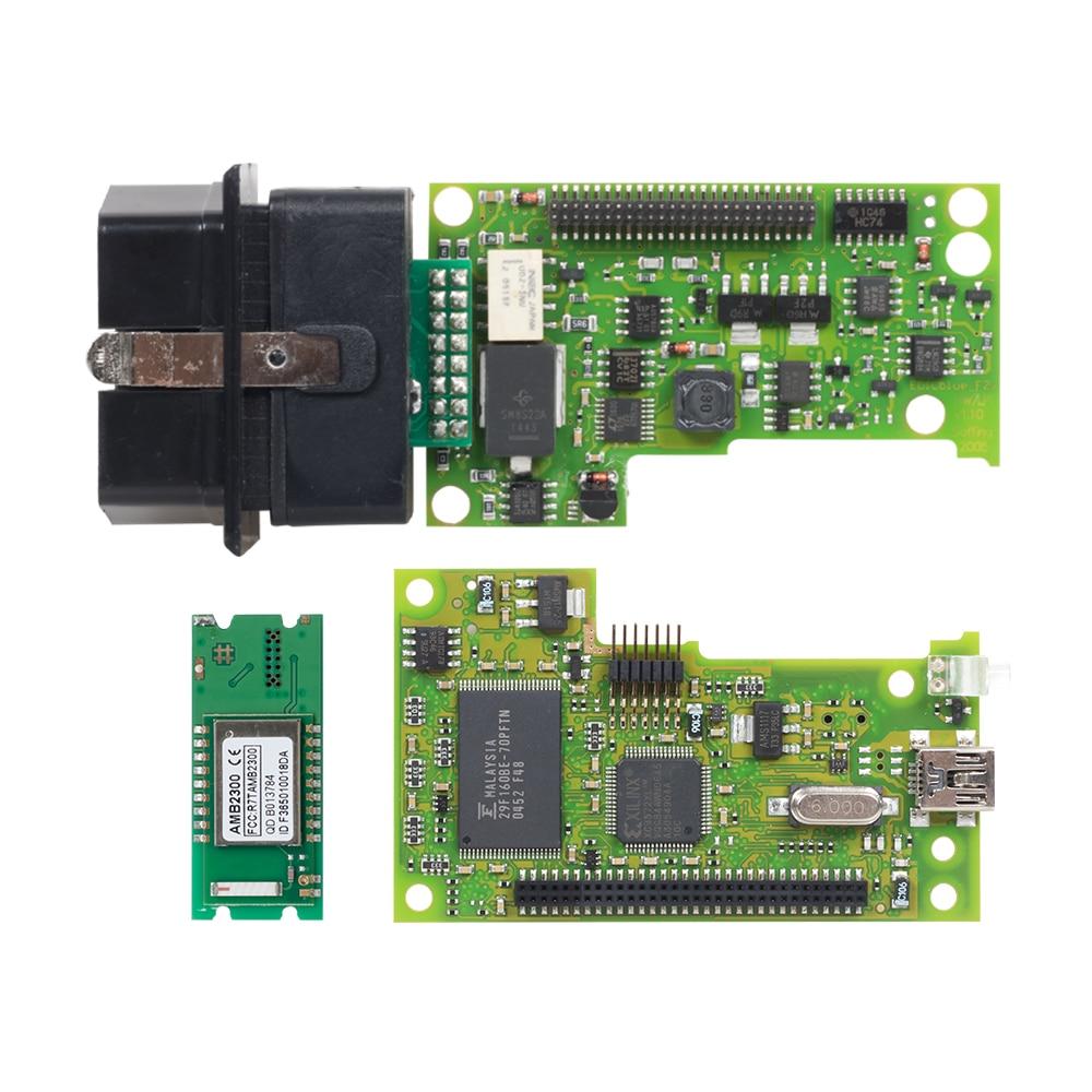 Image 2 - 10pcs VAS5054 ODIS V4.3.3 keygen Full Chip Original OKI Auto OBD2 Diagnostic Tool VAS 5054A Bluetooth code reader VAS 5054 on