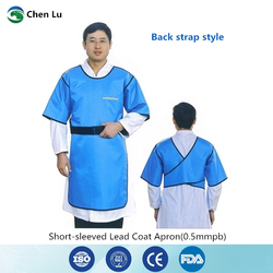 Direct Selling gamma ray and x-ray protective apron nuclear radiation protection high quality 0.5mmpb lead clothing