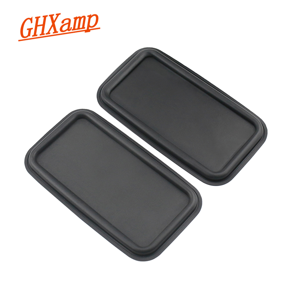 GHXAMP 8inch Flat Bass Passive Radiator Speaker Resonant Diaphragm Rubber Sheet Iron For 6.5 Inch 8 Inch Subwoofer 215*120MM 2PC