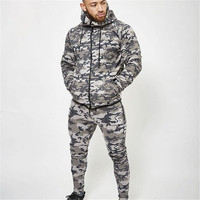 2017 Army Camouflage Pants Casual Skinny Botton Sweatpants Gyms High Street Trousers Pants Men Joggers Slimming