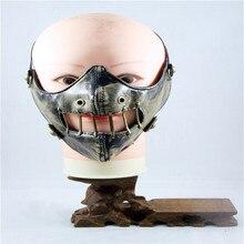 10pcs/Pack New Punk Maskeler Elevation-Training-Mask-2.0 Biker Face Masks Rivet Realistic-masks Motorcycle face Mask