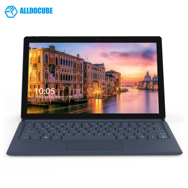 11.6 Inch 1920*1080 2 IN 1 ALLDOCUBE Knote Windows10 Tablet PC intelApollo Lake N3450 Quad Core 6GB Ram 128GB Rom Type C