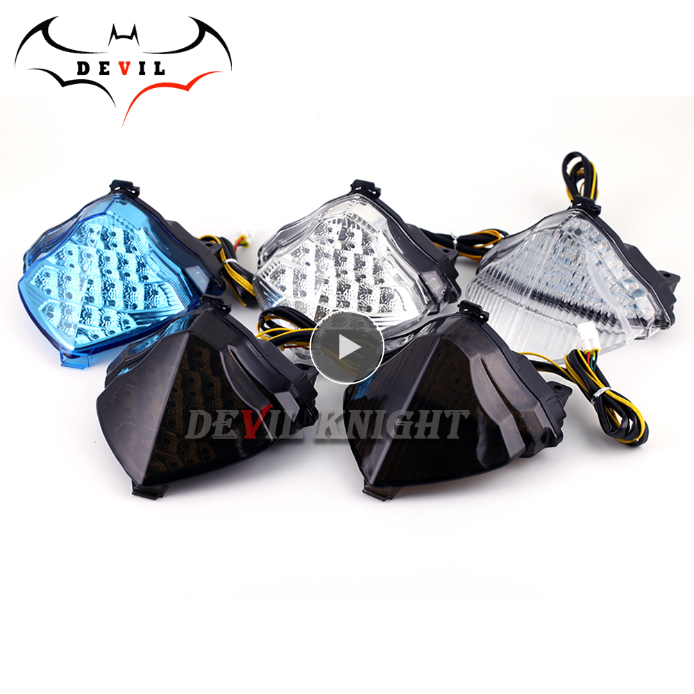 For Yamaha YZF R1 2004 2005 2006 Rear Tail Light Brake Turn Signals Integrated LED Light Motorcycle light Motorcycle Accessories