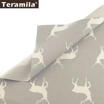 Teramila-100% de algodón para el hogar tejido de algodón con estampado de...