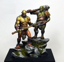 [tuskmodel] 54MM resin model kit ORC H2 (two fiuger NO base)(China)