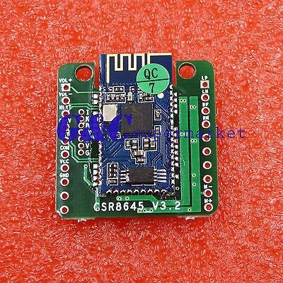 Bluetooth 4.0 CSR8645 Amplifier Board 5W+5W APT-X Stereo Receiver Amp Module