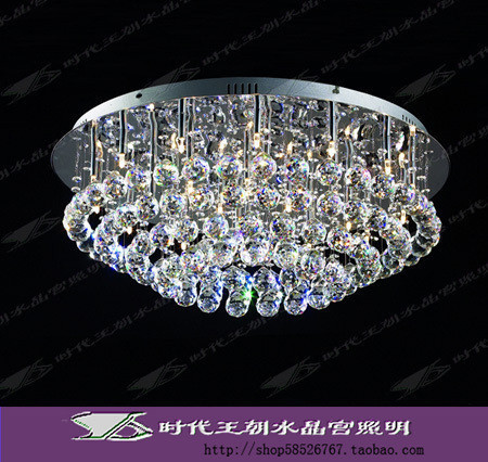 Dynasty Genuine Modern Era Circular Ceiling Living Room Bedroom - Flat ceiling light fixtures