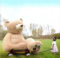 Great gift Giant big teddy Bear plush soft toys dolls 100cm 260CM For Birtherday Christmas Gift