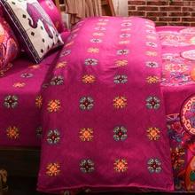 Bohemian Style Floral Printing Twin/Queen/King Boho Mandala Bedding Set 4pcs Duvet Cover Set Bed linen Bed Sheet Wholesale
