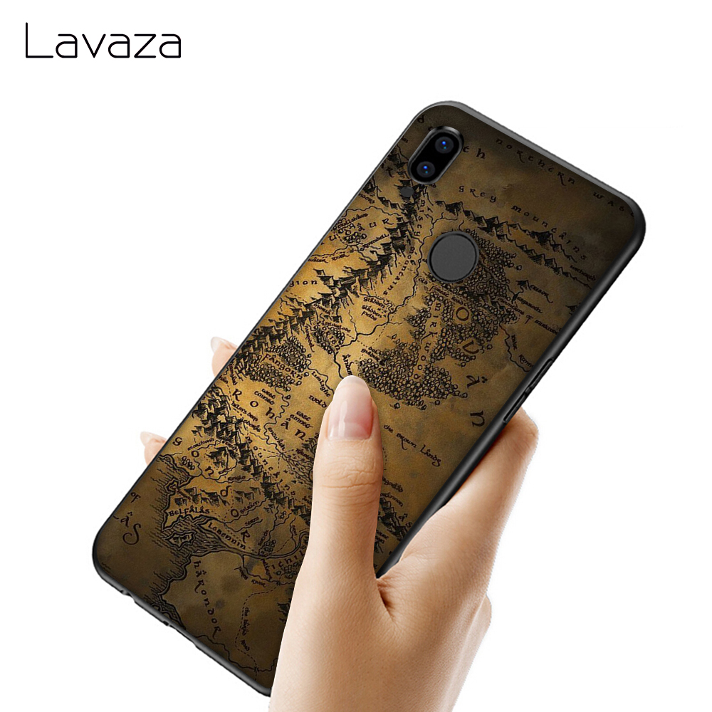 Lavaza World Map Soft Case for Huawei Y7 Prime Y9 Y6 2018 Nova 3 3i for Honor 7A 8X 8C 8 9 10 Lite TPU Cover in Fitted Cases from Cellphones Telecommunications