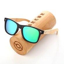 BARCUR 2017 New Handmade Bamboo wooden Polarized Sunglass Retro Men Women Beach Sun glasses gift choice